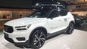 Le XC40, un SUV disponible chez Volvo en version diesel ou essence.