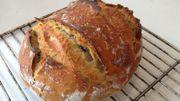 Atelier de fabrication d'un pain bio 100% levain