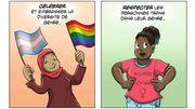 Transidentités et rôles modèles grâce à la BD