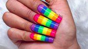 Des nail arts aux couleurs du mois des fiertés