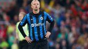 Eidur Gudjohnsen au FC Bruges