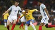 Le Brésil de Neymar sans solution face à la jeune Angleterre