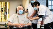 Jos Hermans, le premier homme belge à avoir été vacciné contre le covid, est mort à l'âge de 96 ans