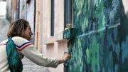 """""""L'art habite la ville"""": à Mons, fenêtres aveugles et pignons s'offrent aux artistes"""