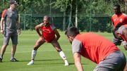 Mehdi Carcela est de retour à l'entraînement du Standard