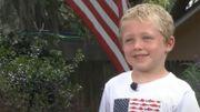 À 7 ans, il sauve son père et sa sœur de la noyade après une heure de nage à contre-courant