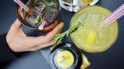 Un thé et une limonade maison pour accompagner le tout