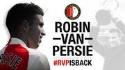Robin van Persie fait son retour à Feyenoord