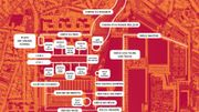 Bruxelles: On connaît le nom des nouvelles rues de Tour et Taxis