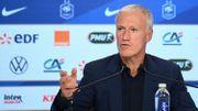 """Nations League : """"Du côté français, il n'y a pas d'esprit de revanche par rapport à la Belgique"""" explique Deschamps"""
