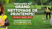 Grand Nettoyage de Printemps!
