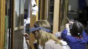 La restauration de l'Agneau mystique révèle une couche de surpeint