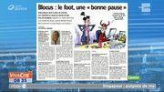 Blocus : une pause foot peut être bénéfique !