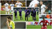 Les clubs belges n'avaient plus disparu de la scène européenne avant noël depuis 2005