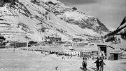 Station de Val d'Isère, en 1970