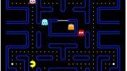 Le Pac-Man doit engloutir des pilules et des fruits dans un labyrinthe, sans se faire attraper par les fantômes