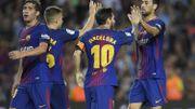 Le Barça gagne et rend hommage aux victimes des attentats