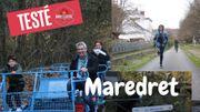 Balade autour de Maredret : la famille Bonvoyage s'amuse sur le RAVel !