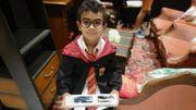 Un petit client fan d'Harry Potter