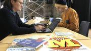 Le magazine Médor a installé une semaine, sa rédaction à l'espace Saint-Mengold place Verte à Huy