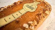 Spécialité : le Clovis, cake à la frangipane et confiture d'abricot.