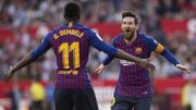 Lionel Messi, auteur d'une reprise de volée magistrale, d'un triplé et d'un assist, dégoûte Séville