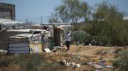 Certains bidonvilles ont brûlé dans le sud de l'Espagne.