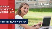 Bienvenue aux portes ouvertes virtuelles du campus FUCaM !