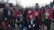 L'armée de lutins de Serge accompagnés des lutins cameraman et ingénieur du son de la RTBF