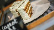 Le fameux carrot cake qui vaut, à lui seul, le déplacement