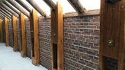 Dans la ferme des Munneke, les murs de la grange ont dû être consolidés