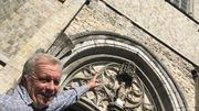 C'est à la collégiale Sainte-Waudru que Guy Lemaire racontera l'histoire d'un tableau volé puis retrouvé, et actuellement en cours de restauration à l'Artothèque, autre lieu insolite de la cité montoise !