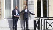 Passation de pouvoir historique entre Paul Magnette et Willy Borsus