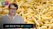 """Recette de Carlo:Frites """"maison"""" ou surgelées?"""