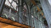 On prévoit encore 5 années de travaux à l'intérieur de l'édifice
