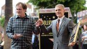 Christoph Waltz inaugure son étoile à Hollywood