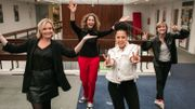 Sara, Ophélie, Fanny et Laure célèbrent le 8mars, journée internationale des droits des femmes!