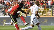 Romelu Lukaku décoche une frappe surpuissante