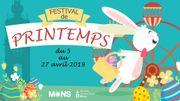 C'est le festival de printemps à Mons