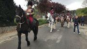 Musique, fanfare à cheval et à pied