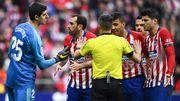 Le Real Madrid et Thibaut Courtois, accueilli par... des rats en peluche, font chuter l'Atlético