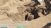 Les archéologues de l'ULB mettent au jour une momie vieille de 1000 ans au Pérou