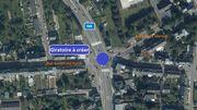 N4 – Arlon: lancement des travaux d'aménagement d'un giratoire au carrefour Liedel