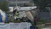 Au moins 22 morts dans le déraillement d'un train sur l'île de Taiwan