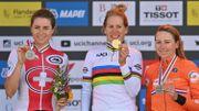 Mondiaux de cyclisme: Ellen Van Dijk championne du monde du contre-la-montre devant Marlen Reusser et Annemiek Van Vleuten