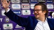 """Coucke """"n'a jamais autant espéré être le 1er mars"""" pour prendre les commandes d'Anderlecht"""