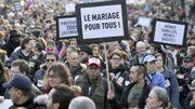 Des milliers de partisans du mariage homo manifestent à Paris