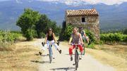 Le Vaucluse, à bicyclette…