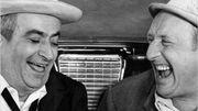 """De Funès et Bourvil dans """"La grande Vadrouille"""""""