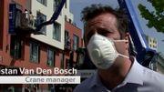 Tristan Van den Bosch, le gérant de la société.